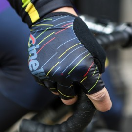 Guantes Cinelli ITALO '79 AERO BLACK GLOVES