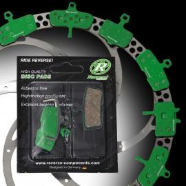 REVERSE Organic pad| Avid Trail E7,E9,XO/Sram Guide