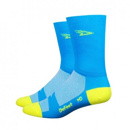Aireator – 5″ D-Logo Process Blue w/ Hi-Vis Yellow