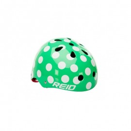 Casco lunares mint green