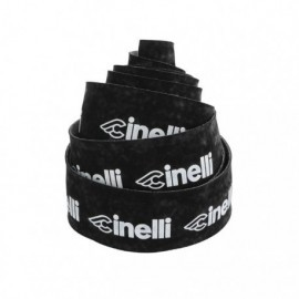 CINELLI LOGO VELVET BLACK