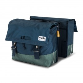 Double Bicycle Bag 40L Recycled - Blue Green