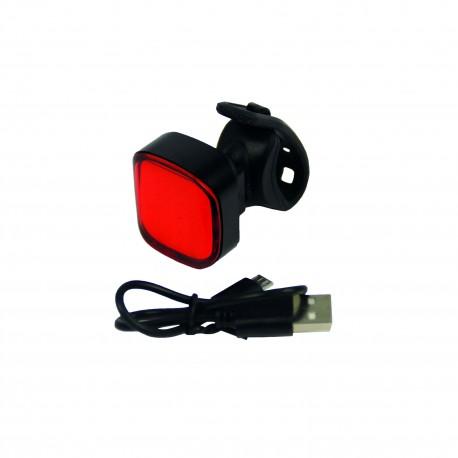 Bike LED Rear Light - USB Rechargeable