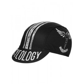 SPIN DOCTOR BLACK CYCLING CAP