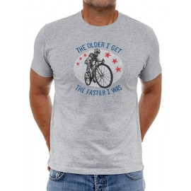 CAMISETA THE FASTER I WAS