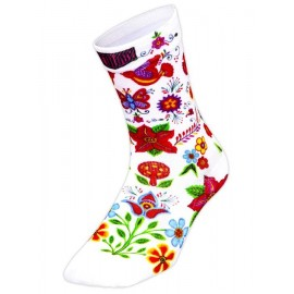 CALCETINES CYCOLOGY FRIDA (WHITE)