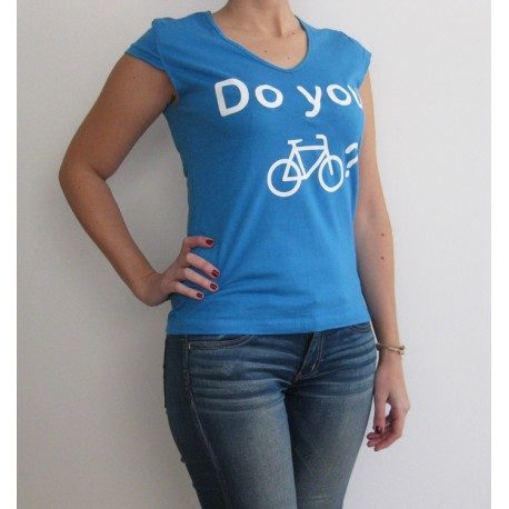 "Camiseta ""Do you"" chica"